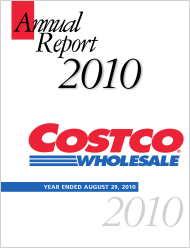 Costco FY 2010 Annual Report