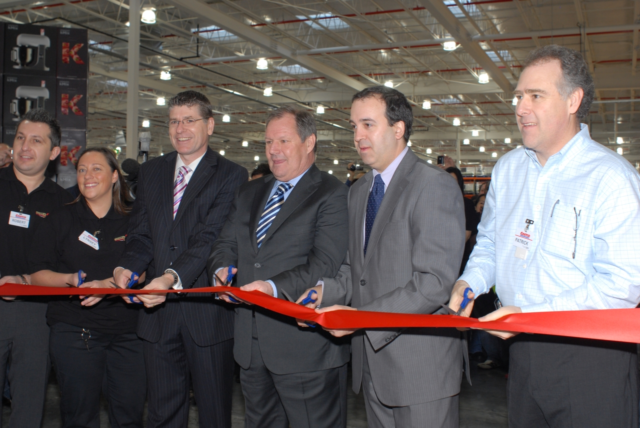 costco history docklands opening