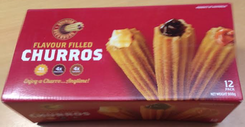 Spanish Doughnuts, Flavoured Churros 900g