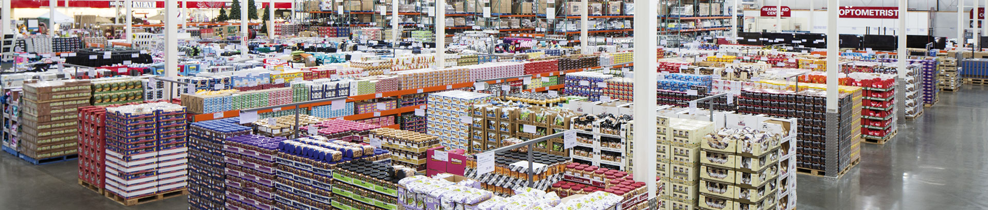 Costco warehouse internal image