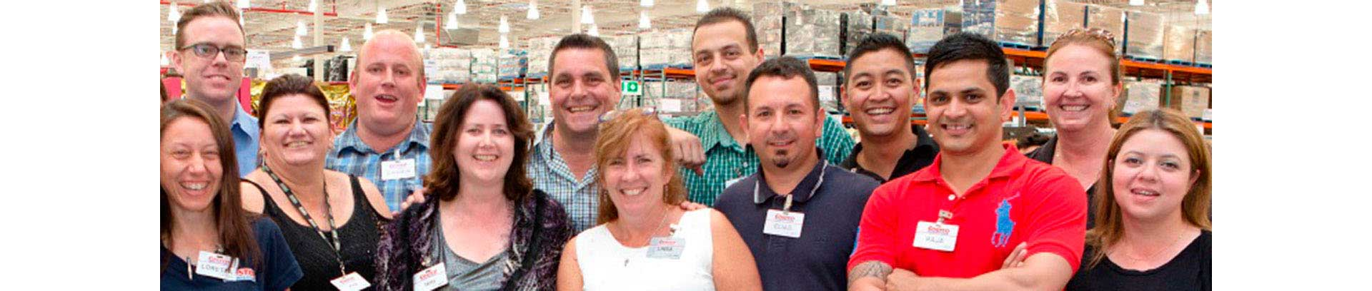 Headshots Of The Costco Team